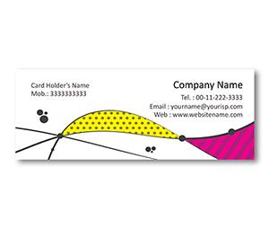Mini Business Cards printing Fabric Pattern