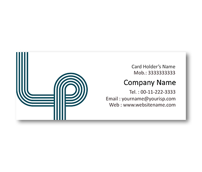Online Mini Business Cards printing Contour Tracks
