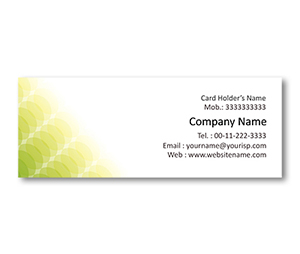 Mini Business Cards printing Eco Care