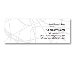Mini Business Cards printing Ribbon Art