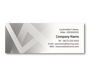 Mini Business Cards printing Interlinked Squares