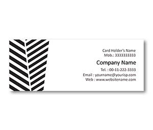 Mini Business Cards printing Zebra Crossing