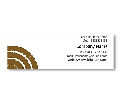 Online Mini Business Cards printing Terra Cotta Patterns