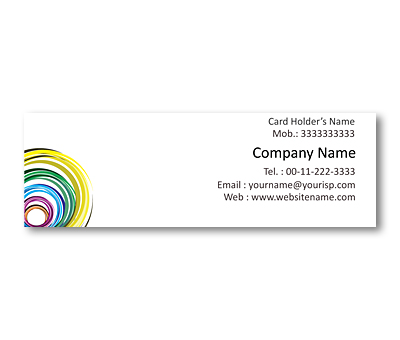 Online Mini Business Cards printing Clay Soil
