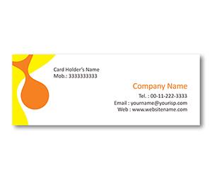 Mini Business Cards printing Pattern Maker