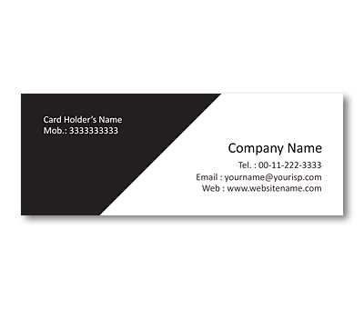 Mini Business Cards Design For Home Decor Offset Or