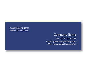Mini Business Cards printing Floral Wallpaper