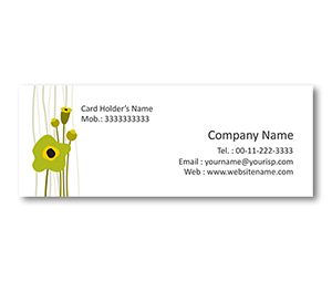 Mini Business Cards printing Graphic Designs Art