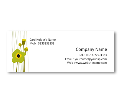 Online Mini Business Cards printing Graphic Designs Art