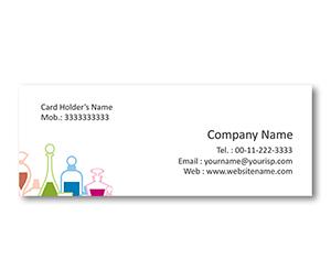 Mini Business Cards printing Pretty Perfume Bottles