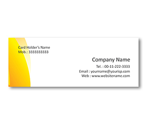 Mini Business Cards printing Light Stores