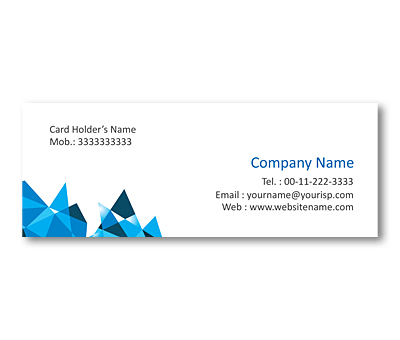 Online Mini Business Cards printing Stained Glass Pattern