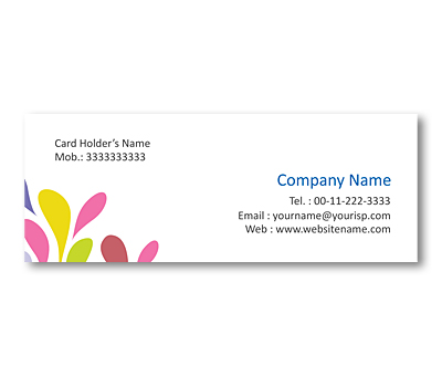 Online Mini Business Cards printing Fabric Material Store
