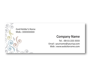 Mini Business Cards printing Floral Dress Shop