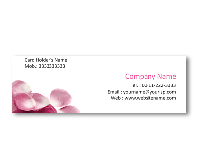 Online Mini Business Cards printing Rose Supplier
