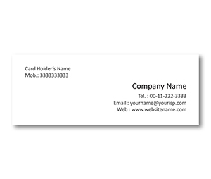 Mini Business Cards printing Canvas Painting Ideas