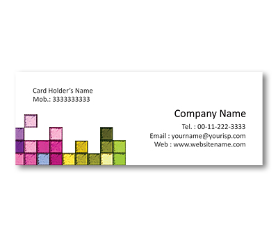 Online Mini Business Cards printing Mosaic Patterns