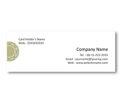 Online Mini Business Cards printing Diamond Shop