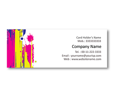 Online Mini Business Cards printing Fashion Trends