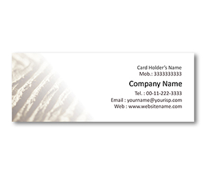 Mini Business Cards printing Soil Conservation