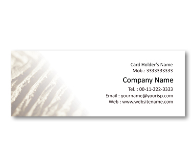 Online Mini Business Cards printing Soil Conservation