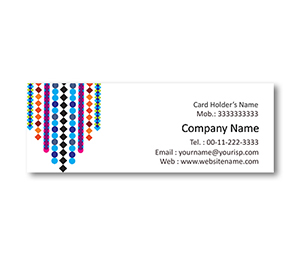 Mini Business Cards printing Beaded Curtains
