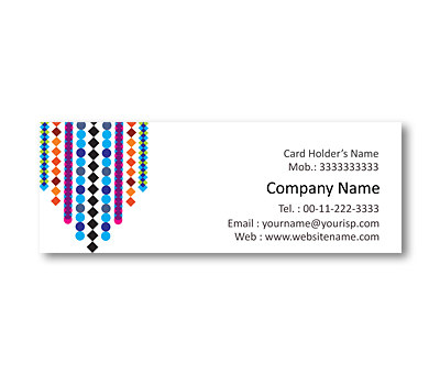 Online Mini Business Cards printing Beaded Curtains