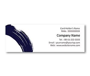 Mini Business Cards printing Calligraphy Art Designs