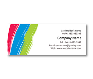 Mini Business Cards printing Paint Store