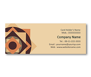 Mini Business Cards printing Floor Tiles Designs