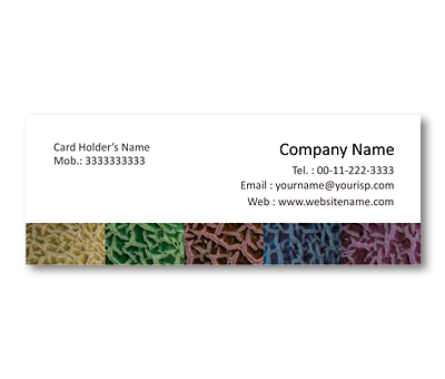 Online Mini Business Cards printing Melon Skin Pattern