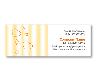 Online Mini Business Cards printing Cake Shop