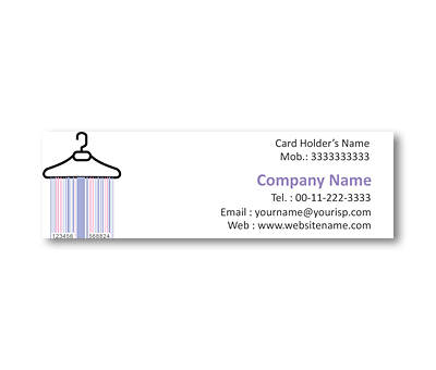 Online Mini Business Cards printing Garment Shop