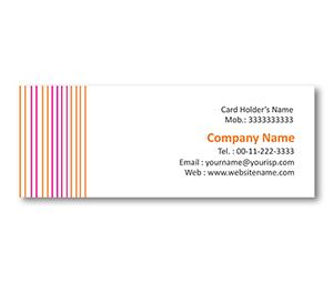Mini Business Cards printing Shirt Shop