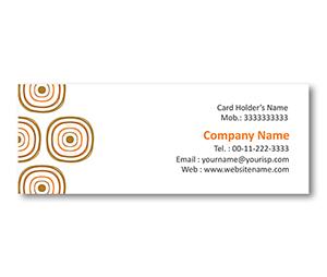 Mini Business Cards printing Square Shape Design