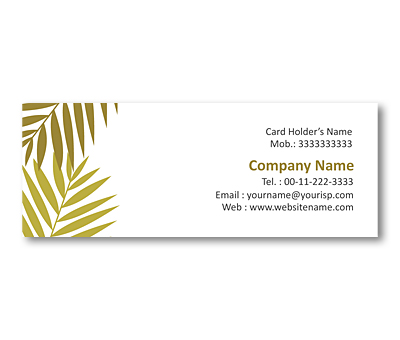 Online Mini Business Cards printing Plant Nursery