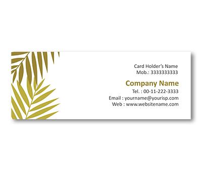 Online Mini Business Cards printing Plant Nursery