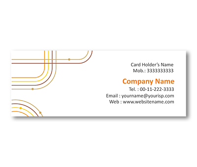 Online Mini Business Cards printing Simple Geometric Patterns