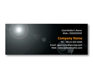 Mini Business Cards printing Sun Rays