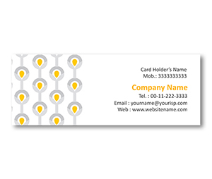 Mini Business Cards printing Beaded Curtain Pattern