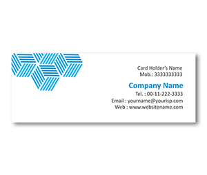 Mini Business Cards printing Liner Cubes