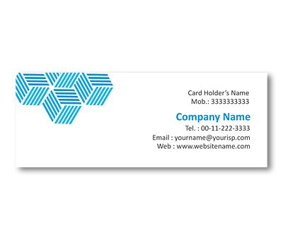 Online Mini Business Cards printing Liner Cubes