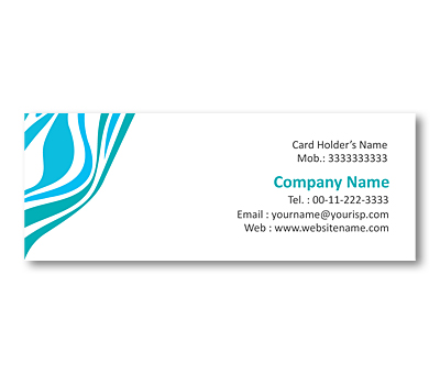 Online Mini Business Cards printing Geographical Patterns