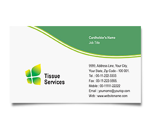 Business Card printing Tissue Culture