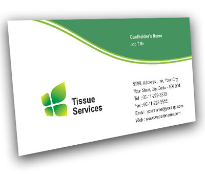 Online Business Card printing Tissue Culture