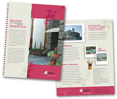 Brochure printing Building Constructions