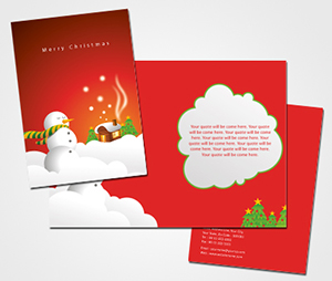 Greeting Card printing Christmas Card