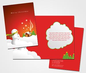 Greeting Card printing Christmas Card