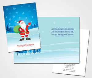 Greeting Card printing Online Christmas