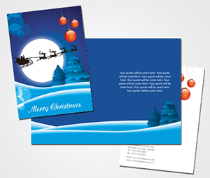 Greeting Card printing Online Merry Christmas